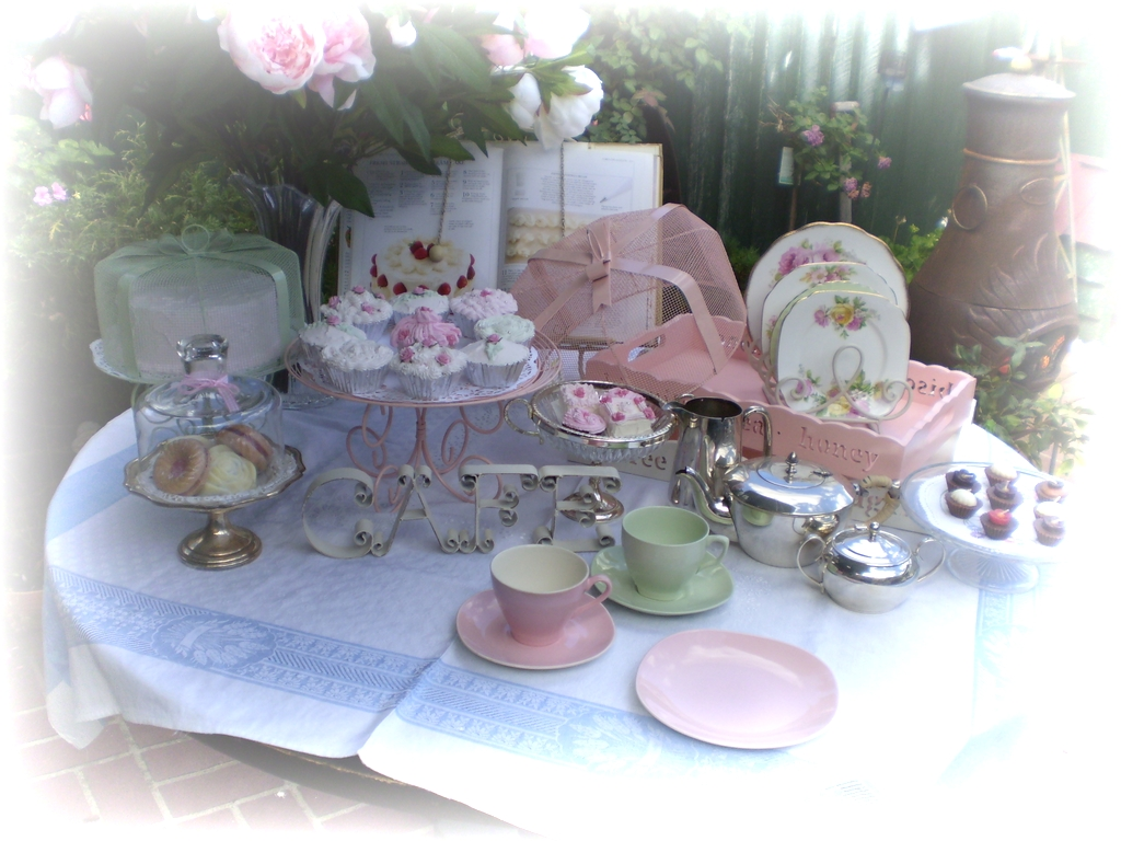 From All Things Quot Shabby To Chic Quot Tea Party